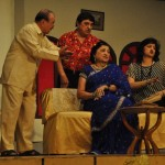 scene from the play Ghar Ghungro ane Ghotalo by Yezdi Karanjia