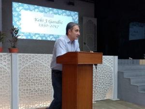 Adil Nargolwala : Remembering Keki Gandhi